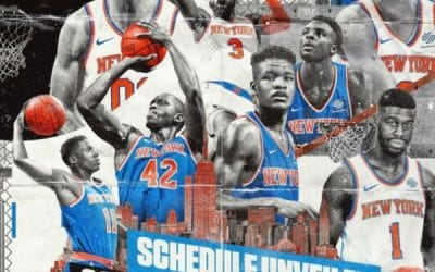 Knicks 2018-2019 Full Schedule Release