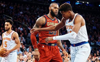 Frank Ntilikina to Start over Rookie Kevin Knox