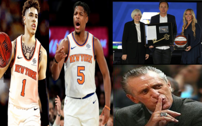 Knicks LaMelo Draft Hype What Exactly Is DSJ? How Jazz Sale Impacts Free Agency & FA Tampering Rules