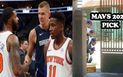 Knicks Mavericks 2021 1st Round Pick Swap Could Be A Stimulus Package With KP Long Injury Timetable