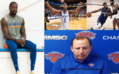Knicks Leon Rose During Media Day Was Asked About Knicks Forming A Roster Around CAA Agency