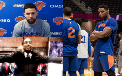 Knicks Austin Rivers & Alec Burks Kill Media Narrative About Knicks Not Being A Destination