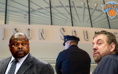 Knicks James Dolan & The Paid Unit Program Vol 2 Patrick Ewing MSG Security Issue
