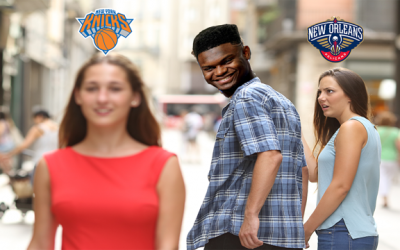 Knicks Get Zion Caught Lacking When Asked About Playing In New York City