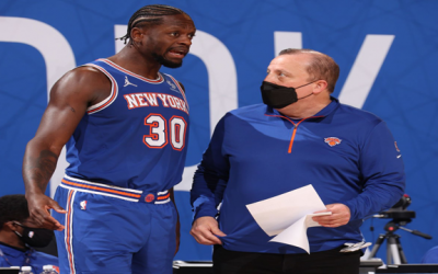 Knicks Tom Thibodeau Has To Live & Die With Randle In Game 5, Hawks Neutralizing Derrick Rose Stamina