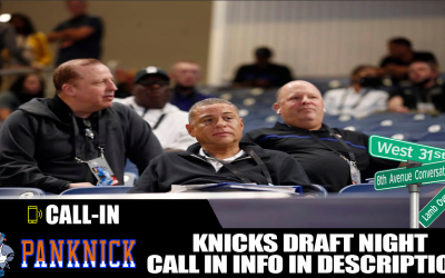 Knicks Draft Night Live Call In 📞 7/29 : 8TH AVE CONVERSATIONS