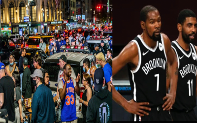 Nets Buying Up Leagues Top Stars This Season Still Didn't Get Them The Knick Fans Energy, The City's Energy Is 1/1