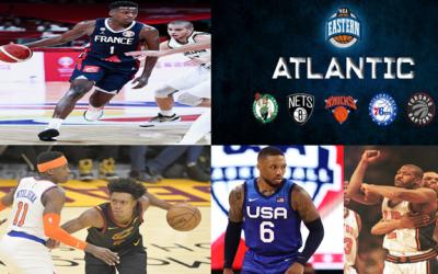 Knicks Off-Season Rumors, Understanding Olympic Frank, Future of Atlantic Division, Larry Johnson Speaks On Future Free Agents